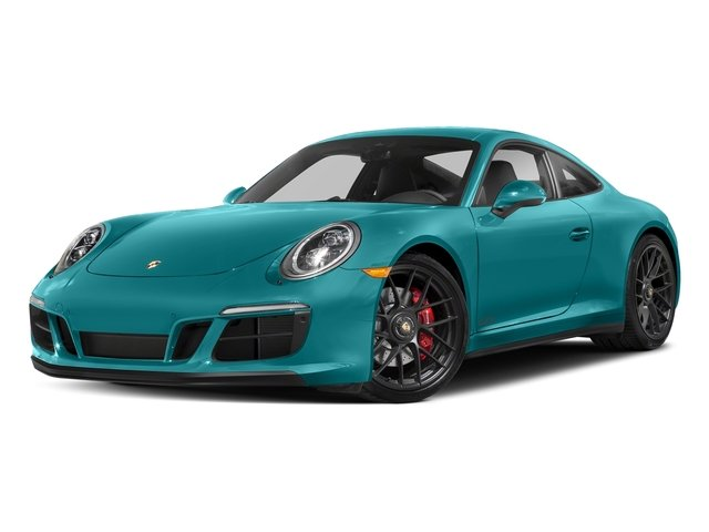 Miami Blue 2017 Porsche 911 Pictures 911 Carrera GTS Coupe photos front view