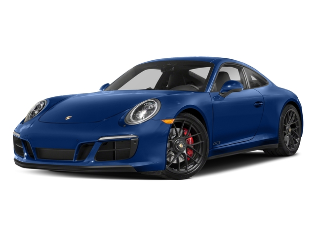 Sapphire Blue Metallic 2017 Porsche 911 Pictures 911 Carrera GTS Coupe photos front view
