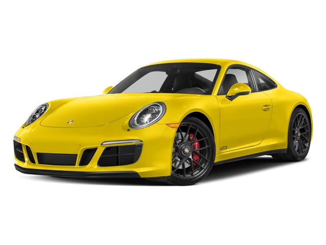 Racing Yellow 2017 Porsche 911 Pictures 911 Carrera GTS Coupe photos front view