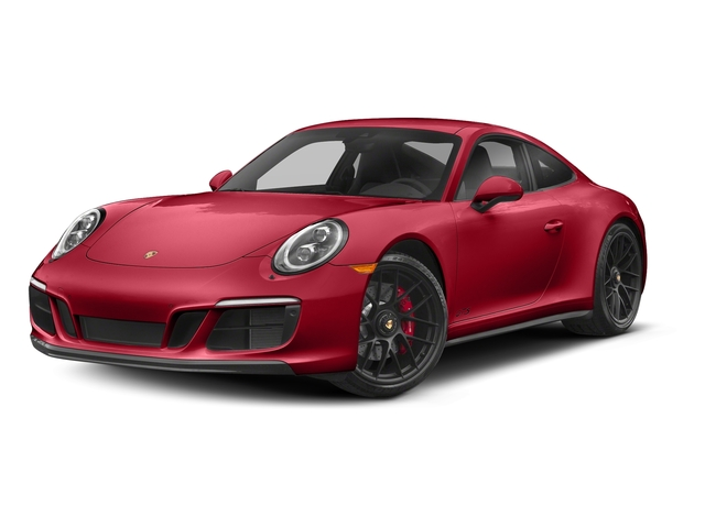 Carmine Red 2017 Porsche 911 Pictures 911 Carrera 4 GTS Coupe photos front view