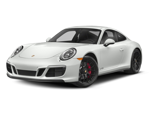 White 2017 Porsche 911 Pictures 911 Carrera 4 GTS Coupe photos front view
