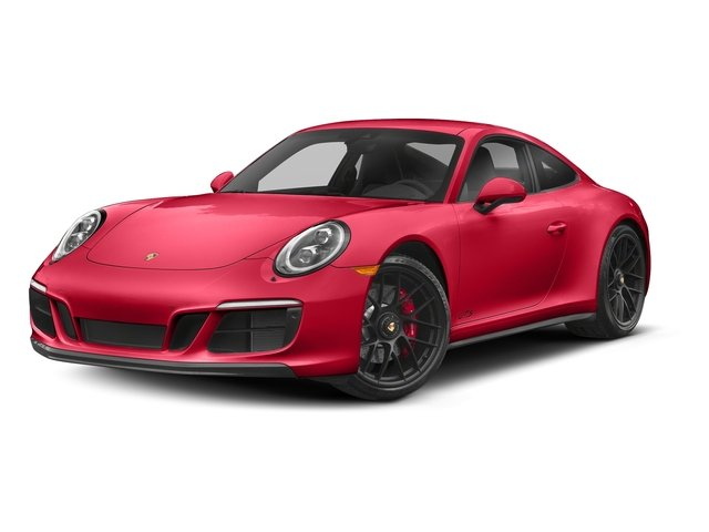 Guards Red 2017 Porsche 911 Pictures 911 Carrera 4 GTS Coupe photos front view