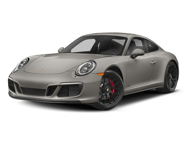 Agate Grey Metallic 2017 Porsche 911 Pictures 911 Carrera 4 GTS Coupe photos front view