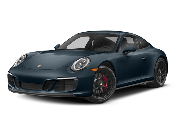 Night Blue Metallic 2017 Porsche 911 Pictures 911 Carrera 4 GTS Coupe photos front view