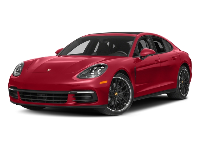 Carmine Red 2017 Porsche Panamera Pictures Panamera 4S Executive AWD photos front view