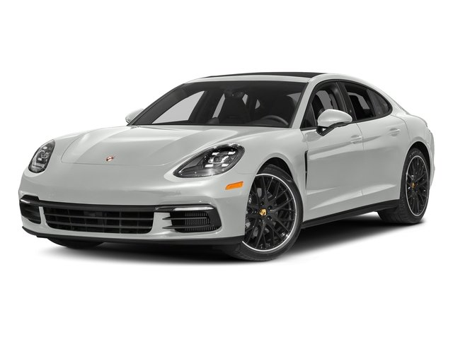 White 2017 Porsche Panamera Pictures Panamera 4S Executive AWD photos front view