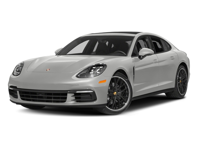 Chalk 2017 Porsche Panamera Pictures Panamera Hatchback 4D 4 AWD V6 Turbo photos front view