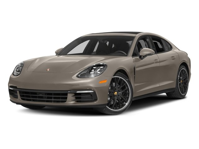 Palladium Metallic 2017 Porsche Panamera Pictures Panamera 4S Executive AWD photos front view