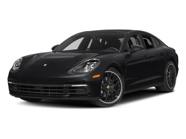 Black 2017 Porsche Panamera Pictures Panamera 4S Executive AWD photos front view