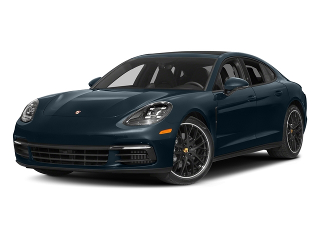 Night Blue Metallic 2017 Porsche Panamera Pictures Panamera Hatchback 4D 4 AWD V6 Turbo photos front view