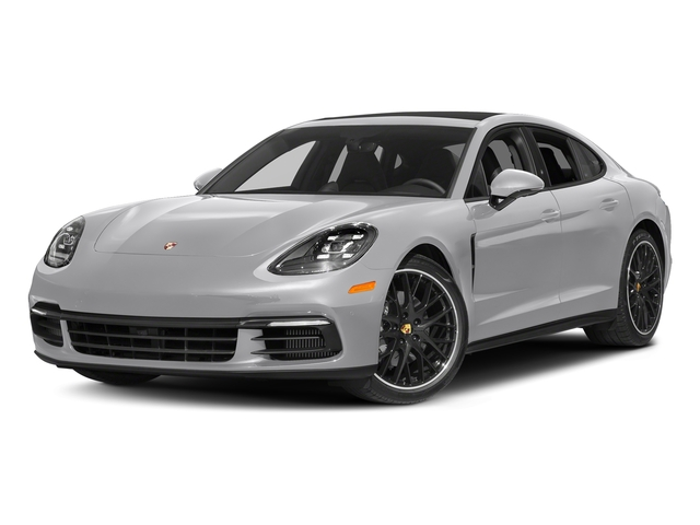 GT Silver Metallic 2017 Porsche Panamera Pictures Panamera 4S Executive AWD photos front view
