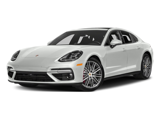 White 2017 Porsche Panamera Pictures Turbo AWD Photos Front View