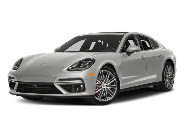 Chalk 2017 Porsche Panamera Pictures Panamera Turbo Executive AWD photos front view