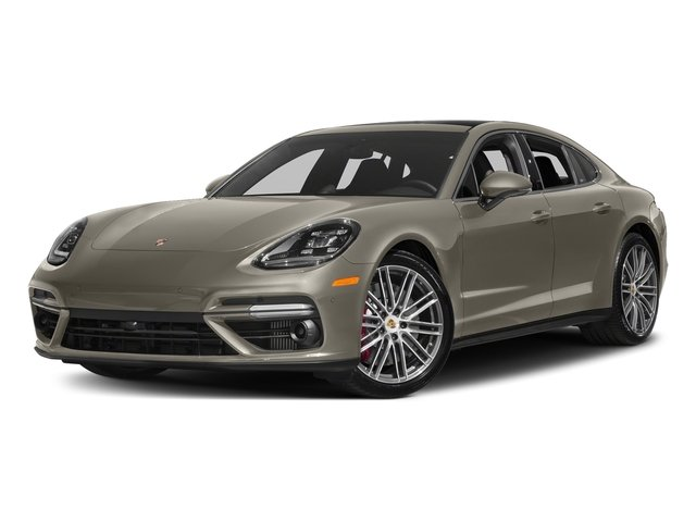 Palladium Metallic 2017 Porsche Panamera Pictures Panamera Turbo Executive AWD photos front view