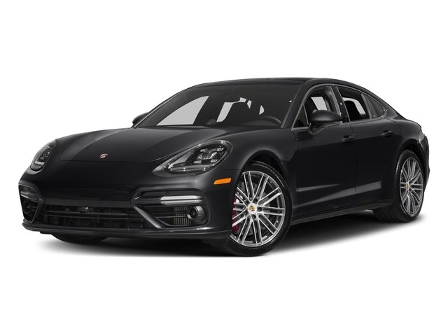 Black 2017 Porsche Panamera Pictures Panamera Turbo Executive AWD photos front view