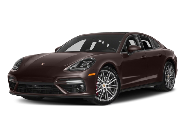Mahogany Metallic 2017 Porsche Panamera Pictures Panamera Turbo Executive AWD photos front view