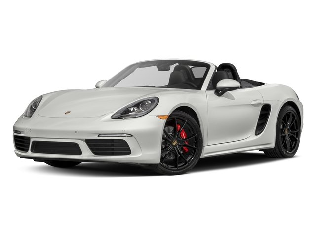 White 2017 Porsche 718 Boxster Pictures 718 Boxster Roadster 2D S H4 Turbo photos front view