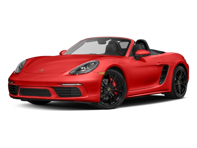 Lava Orange 2017 Porsche 718 Boxster Pictures 718 Boxster Roadster 2D S H4 Turbo photos front view