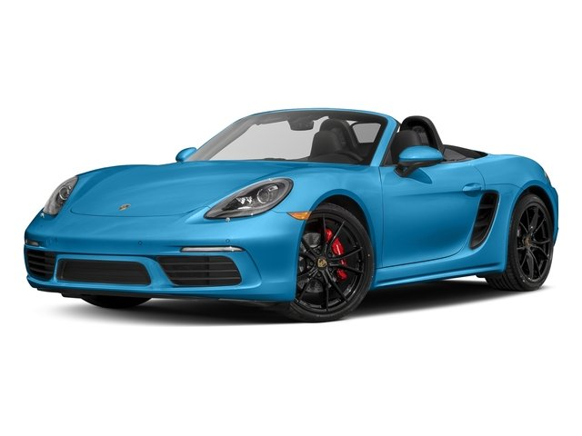Miami Blue 2017 Porsche 718 Boxster Pictures 718 Boxster Roadster 2D S H4 Turbo photos front view