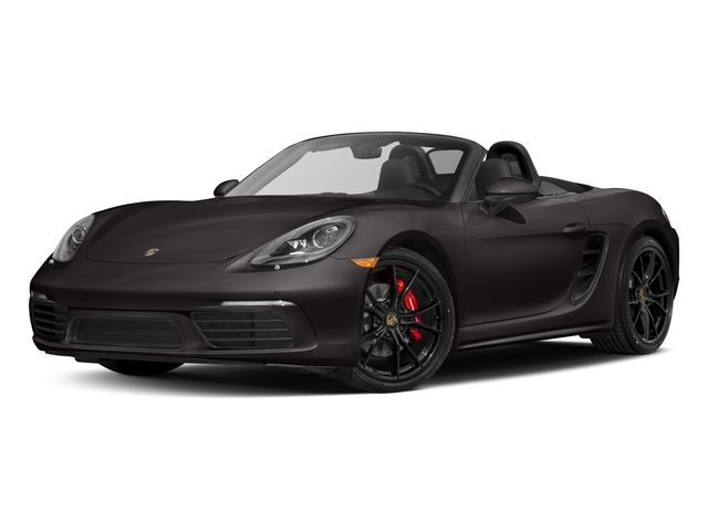 Agate Grey Metallic 2017 Porsche 718 Boxster Pictures 718 Boxster Roadster 2D S H4 Turbo photos front view