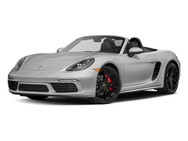 GT Silver Metallic 2017 Porsche 718 Boxster Pictures 718 Boxster Roadster 2D S H4 Turbo photos front view