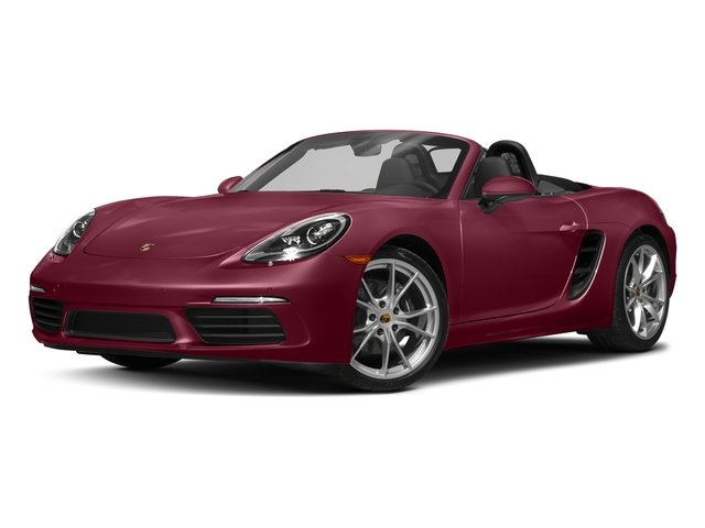 Carmine Red 2017 Porsche 718 Boxster Pictures 718 Boxster Roadster photos front view