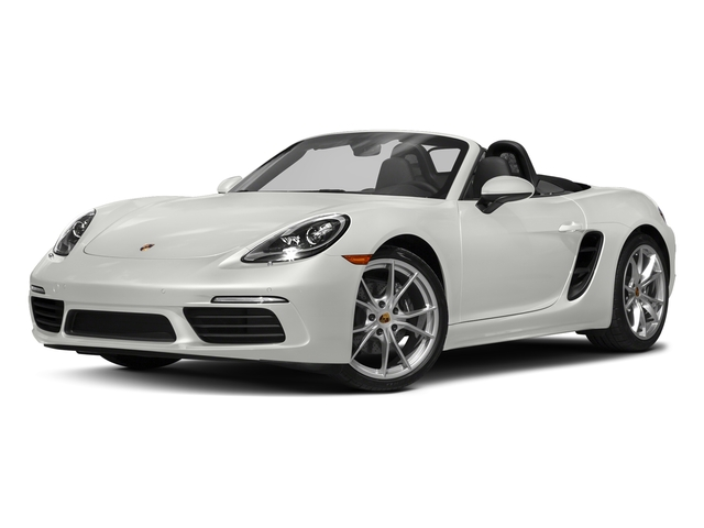 White 2017 Porsche 718 Boxster Pictures 718 Boxster Roadster photos front view