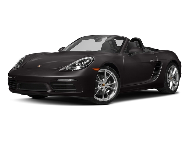 Agate Grey Metallic 2017 Porsche 718 Boxster Pictures 718 Boxster Roadster photos front view