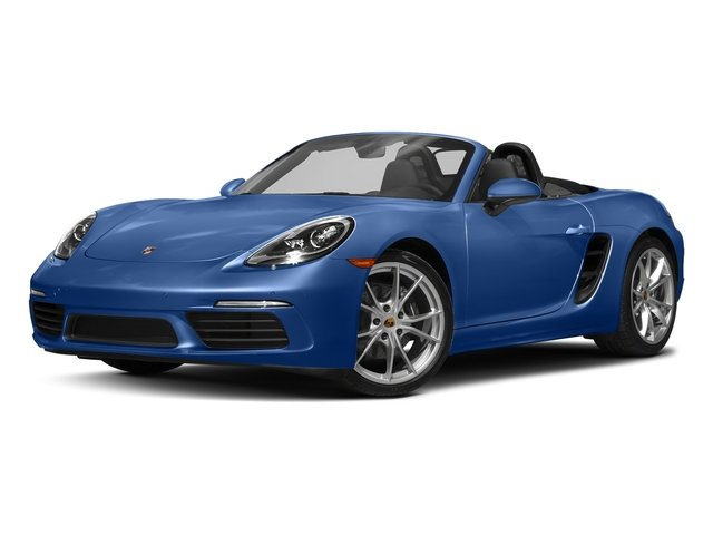 Sapphire Blue Metallic 2017 Porsche 718 Boxster Pictures 718 Boxster Roadster 2D H4 Turbo photos front view