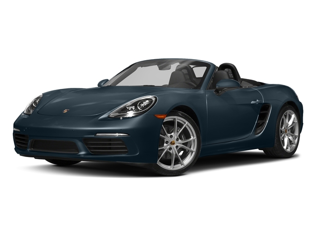Night Blue Metallic 2017 Porsche 718 Boxster Pictures 718 Boxster Roadster photos front view