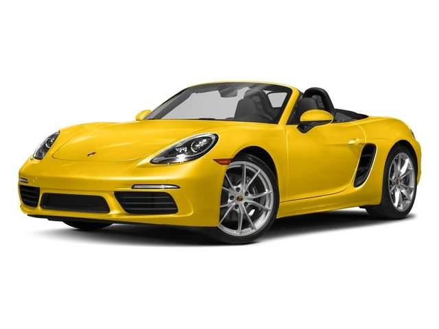 Racing Yellow 2017 Porsche 718 Boxster Pictures 718 Boxster Roadster 2D H4 Turbo photos front view