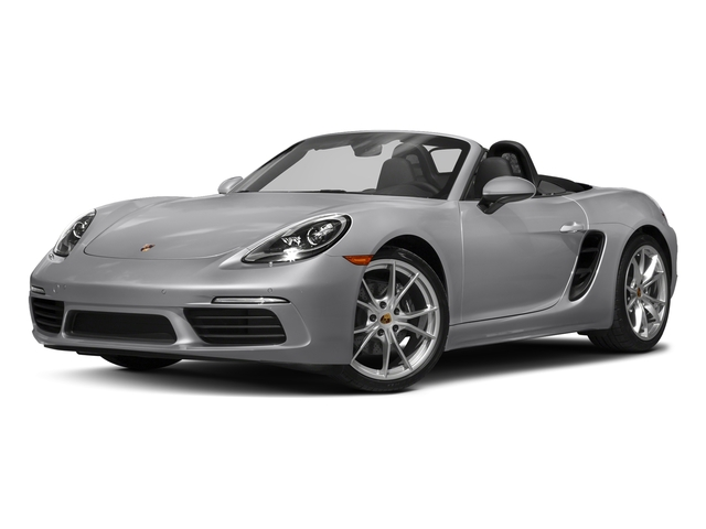 GT Silver Metallic 2017 Porsche 718 Boxster Pictures 718 Boxster Roadster photos front view