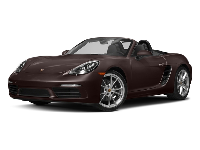Mahogany Metallic 2017 Porsche 718 Boxster Pictures 718 Boxster Roadster photos front view