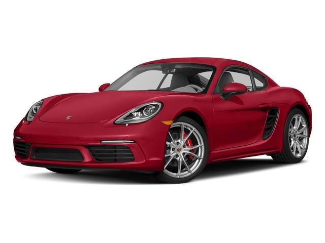 Carmine Red 2017 Porsche 718 Cayman Pictures 718 Cayman S Coupe photos front view