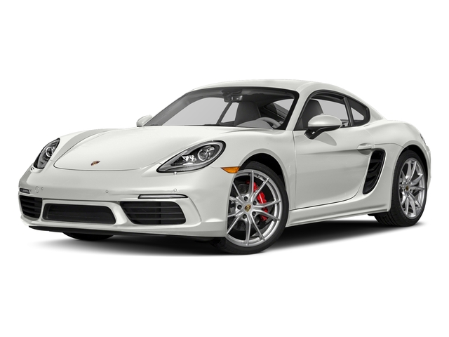White 2017 Porsche 718 Cayman Pictures 718 Cayman S Coupe photos front view