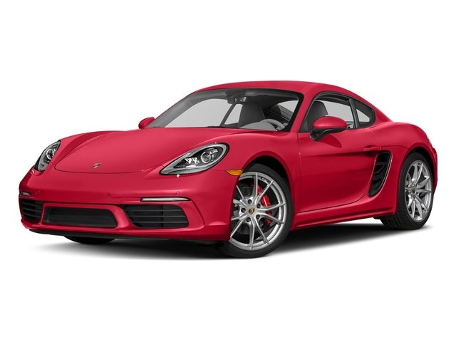 Guards Red 2017 Porsche 718 Cayman Pictures 718 Cayman Coupe 2D S H4 Turbo photos front view
