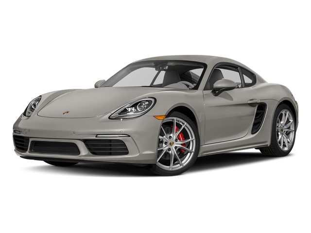Agate Grey Metallic 2017 Porsche 718 Cayman Pictures 718 Cayman S Coupe photos front view