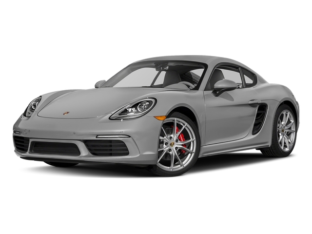 Rhodium Silver Metallic 2017 Porsche 718 Cayman Pictures 718 Cayman S Coupe photos front view