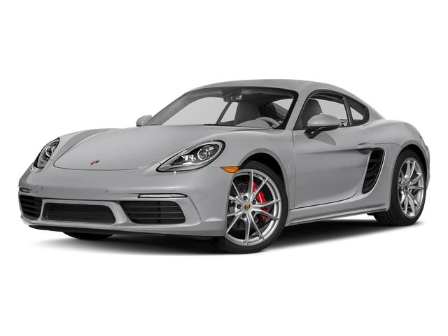 GT Silver Metallic 2017 Porsche 718 Cayman Pictures 718 Cayman S Coupe photos front view