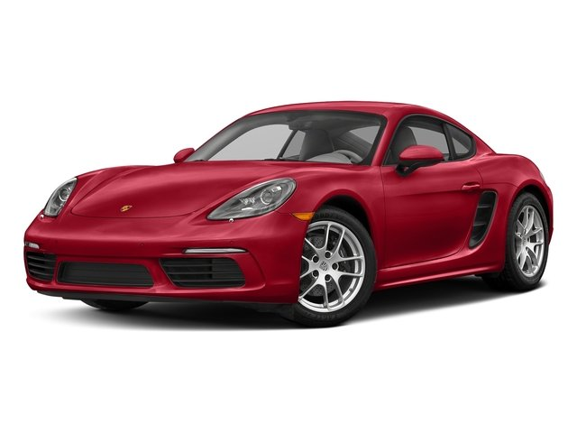 Carmine Red 2017 Porsche 718 Cayman Pictures 718 Cayman Coupe photos front view