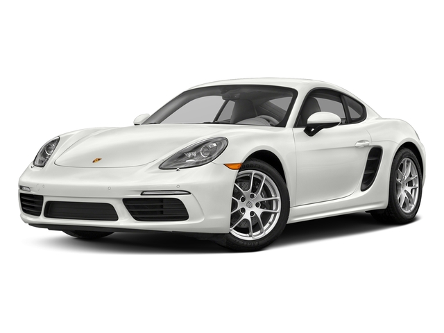 White 2017 Porsche 718 Cayman Pictures 718 Cayman Coupe photos front view
