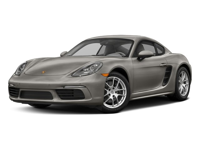 Agate Grey Metallic 2017 Porsche 718 Cayman Pictures 718 Cayman Coupe photos front view