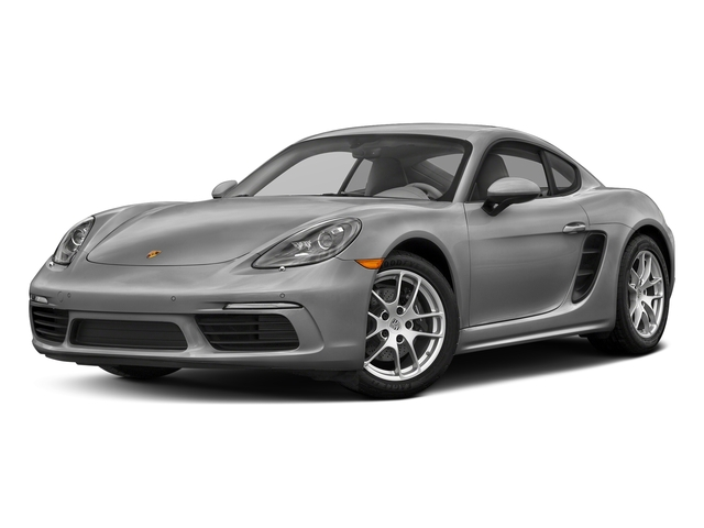 Rhodium Silver Metallic 2017 Porsche 718 Cayman Pictures 718 Cayman Coupe photos front view