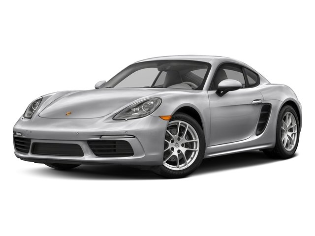 GT Silver Metallic 2017 Porsche 718 Cayman Pictures 718 Cayman Coupe photos front view
