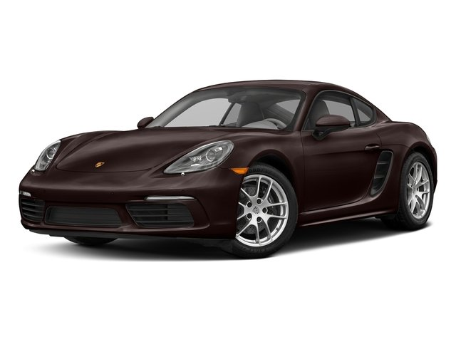 Mahogany Metallic 2017 Porsche 718 Cayman Pictures 718 Cayman Coupe photos front view