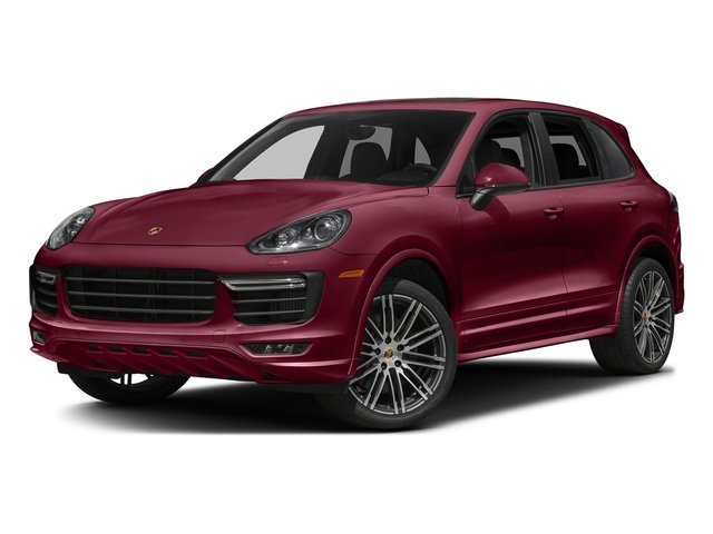 Carmine Red 2017 Porsche Cayenne Pictures Cayenne Utility 4D GTS AWD V6 Turbo photos front view