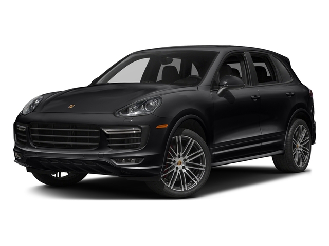 Black 2017 Porsche Cayenne Pictures Cayenne Utility 4D GTS AWD V6 Turbo photos front view