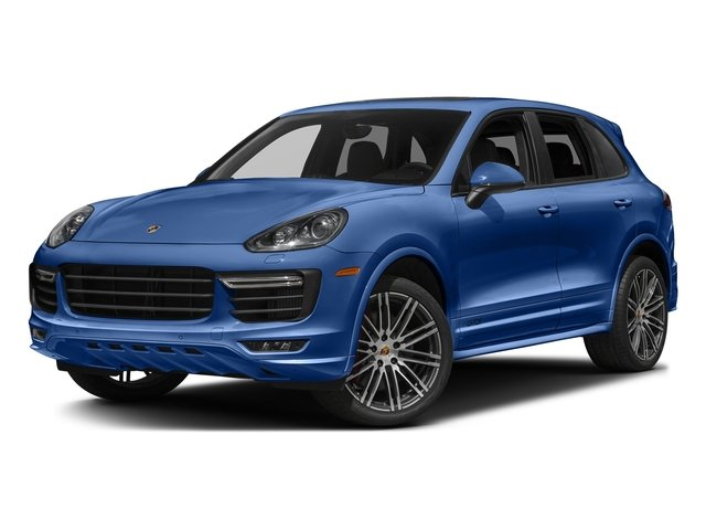 Sapphire Blue Metallic 2017 Porsche Cayenne Pictures Cayenne Utility 4D GTS AWD V6 Turbo photos front view