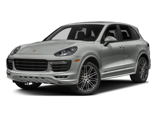 Rhodium Silver Metallic 2017 Porsche Cayenne Pictures Cayenne Utility 4D GTS AWD V6 Turbo photos front view