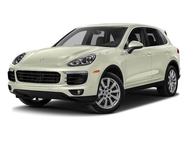 Carrara White Metallic 2017 Porsche Cayenne Pictures Cayenne S AWD photos front view